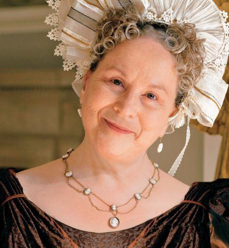 little dorrit - Pam Ferris as Mrs General in Little Dorrit.