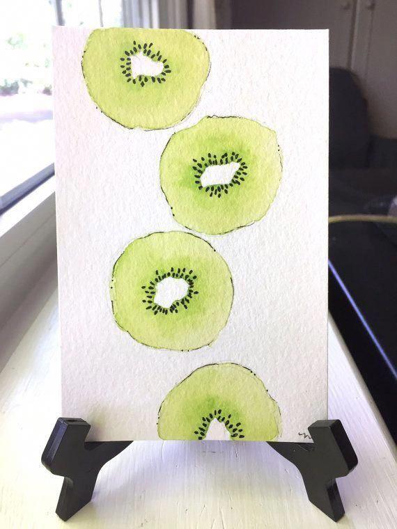Kiwi Wall Decor (Print Only)