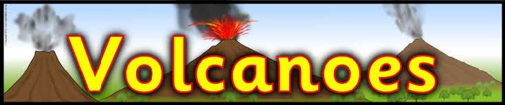 Volcanoes display banner