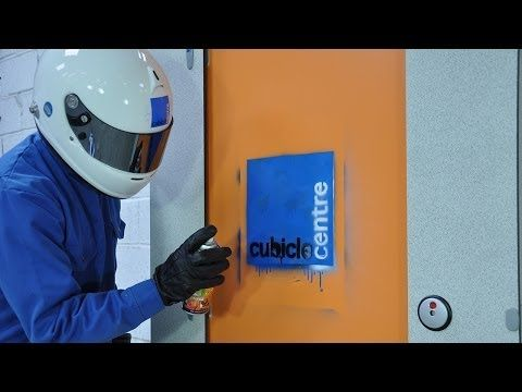 ▶ Toilet Cubicle Panel Testing - YouTube