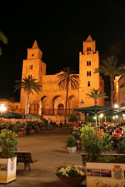 La Cattedrale di notte - Cefalù