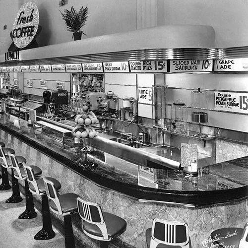 Newberry's Lunch Counter ~ Bergen Mall, Paramus