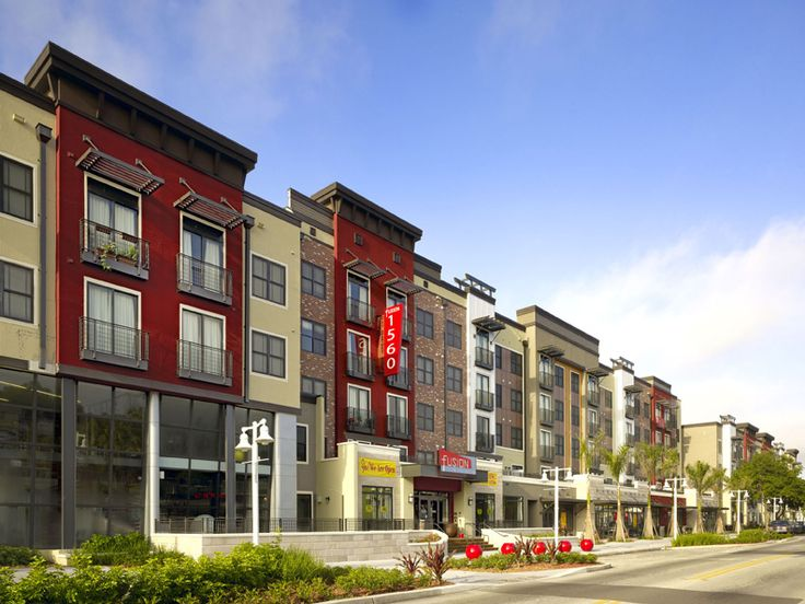 Modern Urban Apartment Building stock images similar to id 135206828 - modern apartment complex