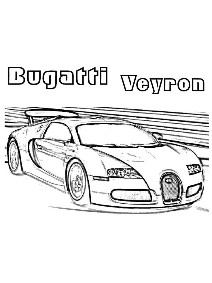 printable bugatti coloring pages online. The sports car ...