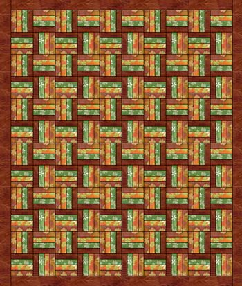 Crooked Fence~Free Pattern                                                                                                                                                                                 More