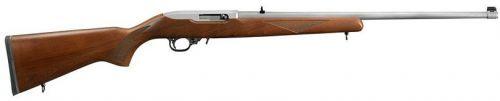 "Ruger 10/22 Stainless 22"" - .22 Long Rifle - Sporter Model http://riflescopescenter.com/category/bsa-riflescope-reviews/"