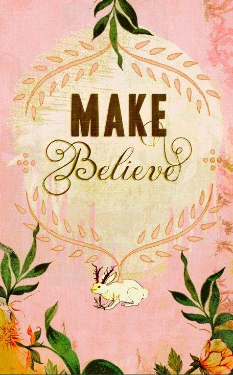 Make believe print