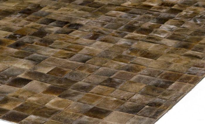 Δερμάτινο χαλί με 10αρι πλακάκι, επιθυμητή διάσταση