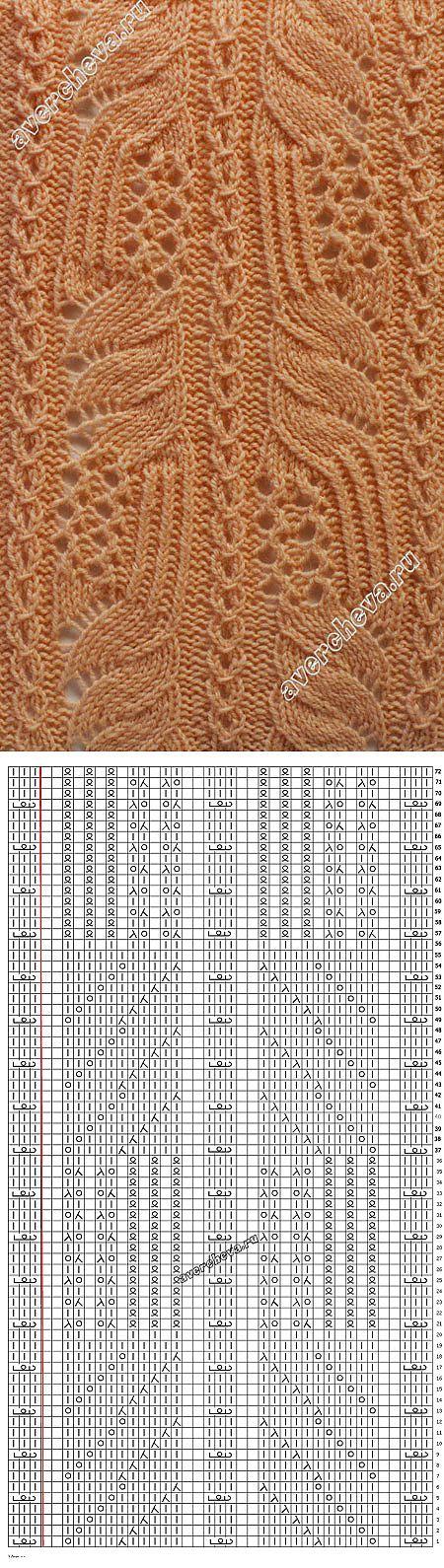 knitting pattern with needles ... ♥ Deniz ♥