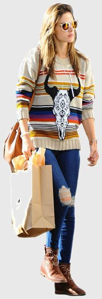 Alessandra Ambrosio's outfit. Find where to buy the latest celebrity style on WheresThatStyle.com!