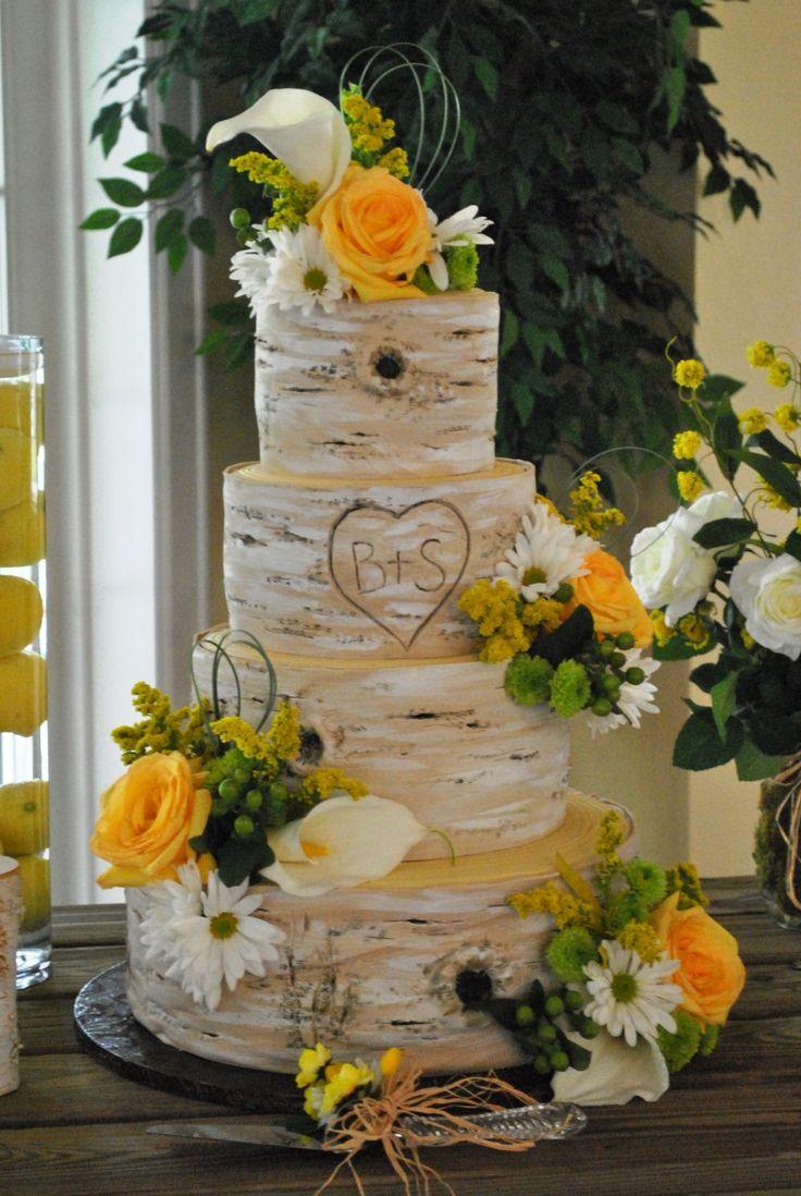 nature inspired wedding decorations | Birch-tree-trunks-Lamg-Farm-The-Cake-Zone-Flotrida-e1374971879243.jpg