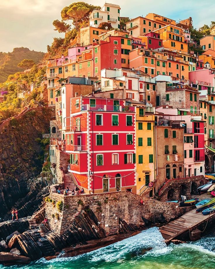 """23.4k Likes, 283 Comments - TripAdvisor (@tripadvisor) on Instagram: """"If #CinqueTerre is on your #bucketlist… stunning Riomaggiore is a must-see. Rooms go fast, so book…"""""""