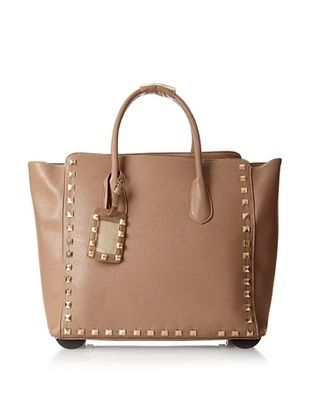 50% OFF KC Jagger Women's Harlow Rolling Bag, Taupe