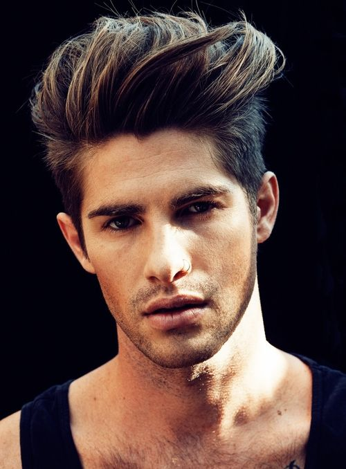 Super 1000 Images About Mens Hair Style On Pinterest Men With Long Short Hairstyles Gunalazisus