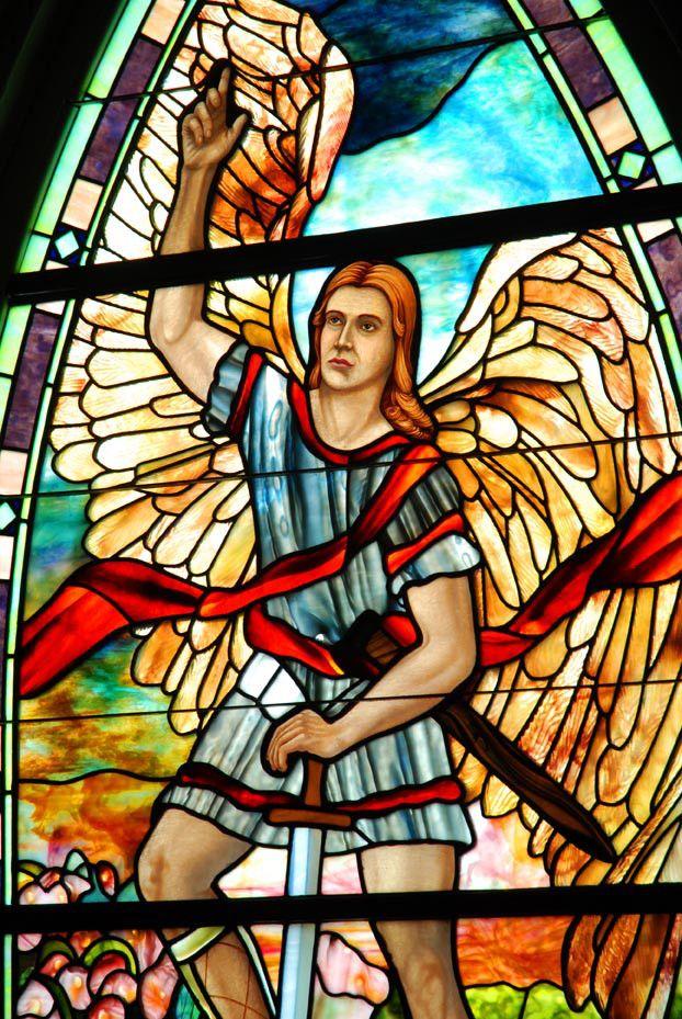 Tiffany Window at St. Paul's Episcopal Church, Franklin, Tennessee