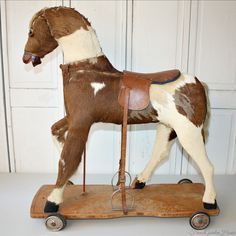 leather toy horse - Google Search