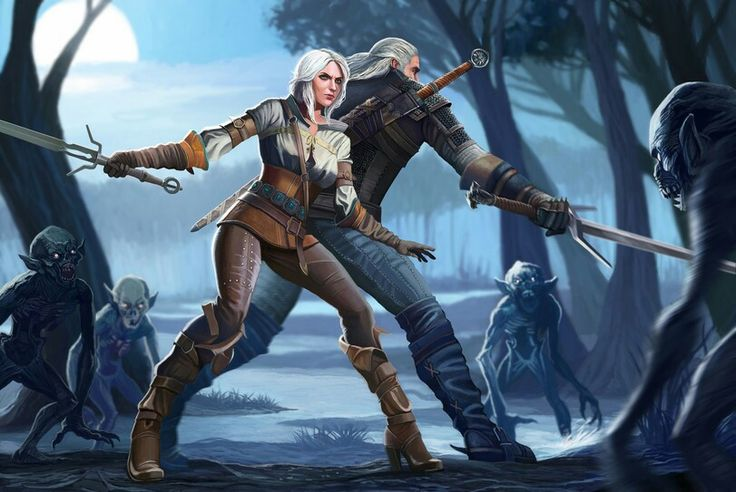 870 best the witcher images on pinterest videogames the - Ciri gwent card witcher 3 ...
