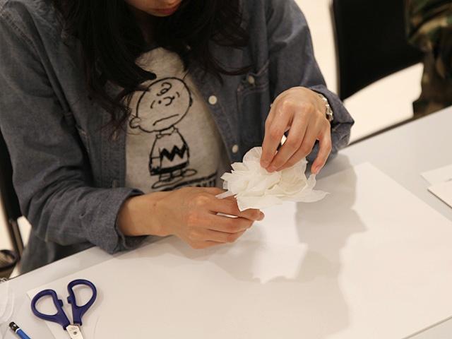さくらパンダ×東京藝術大学 ワークショップ 「紙でつくるヘッドドレス」