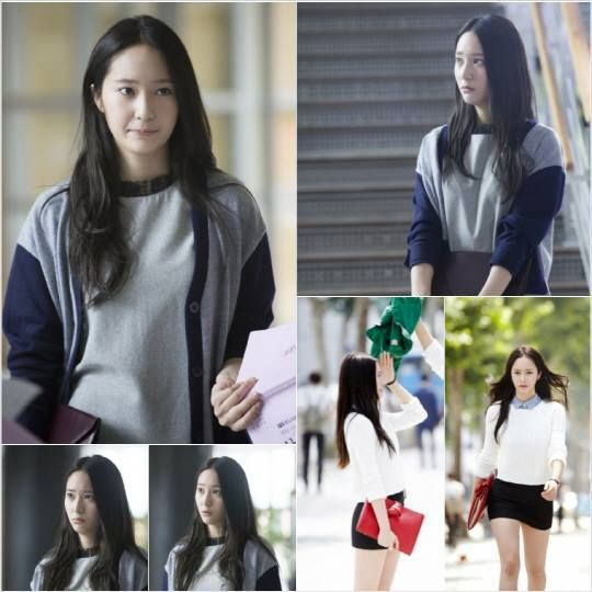 "Heirs - Korean Drama Here's the first still images of singer/actress Krystal (from idol group ""f(x)"") in upcoming SBS drama series ""HEIRS"".    ::)"
