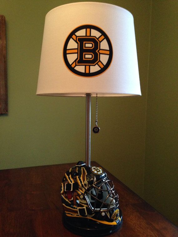 Boston Bruins Mini Goalie Mask Lamp By Thatlampguygraz On
