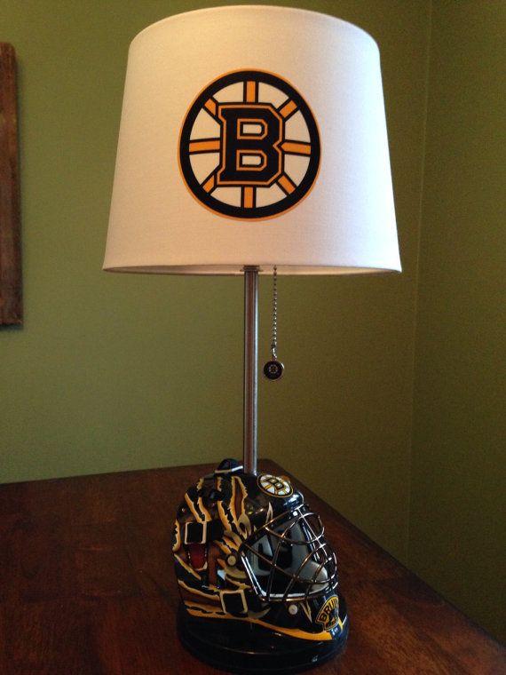 Boston Bruins Mini Goalie Mask Lamp By Thatlampguygraz On