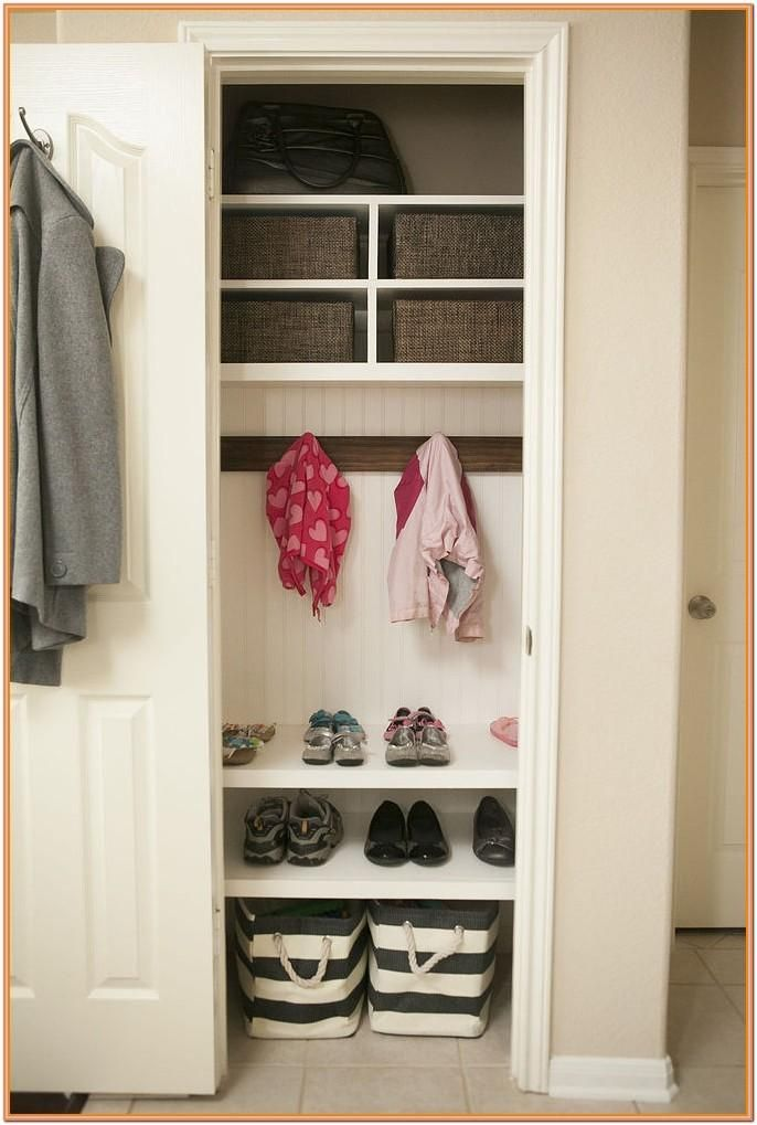 Living Room Coat Closet Ideas By Kenneth Woods In 2020 With Images Coat Closet Storage Closet Remodel Entry Closet