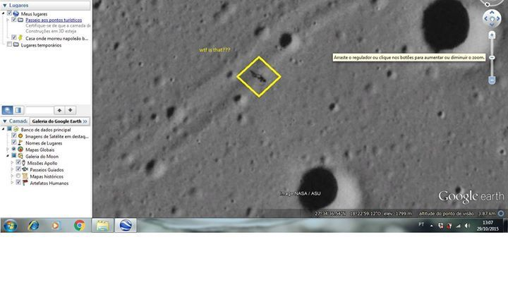 Strange anomaly found on Google Earth (Moon). What is this? http://dtv.to/VaCeff - http://dtv.to/VaCeff