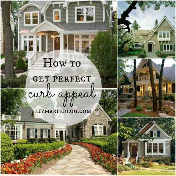 How to get perfect curb appeal - lizmarieblog.com