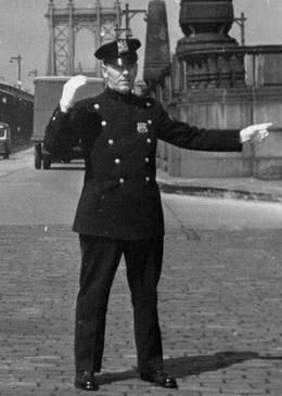 """1940s american police officer 