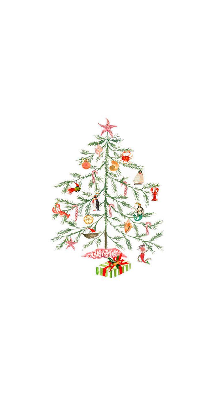 Iphone wallpaper tumblr makeup - Christmas Tree