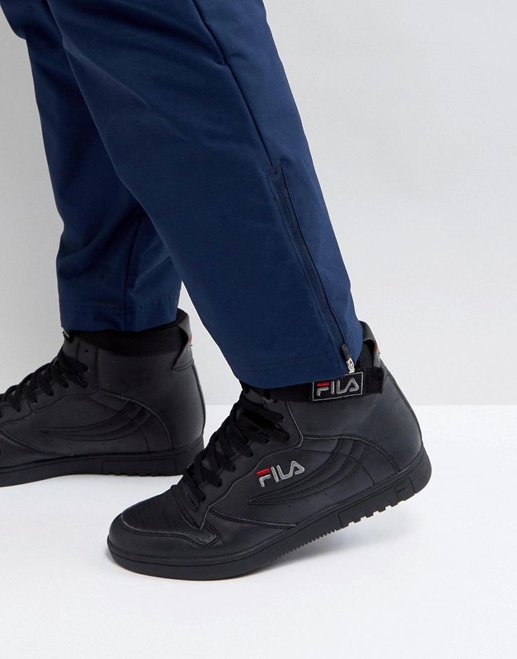 Fila FX-100 Mid Sneakers in Black - Black