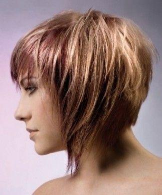 Taglio di capelli corti rock
