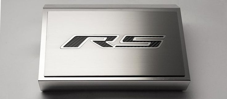 2016-2018 Camaro V6 RS | Fuse Box Cover ''RS Style'' installs directly OVER your factory fuse box.