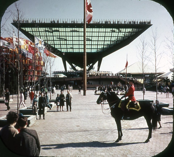 RCMP at the Canada Pavilion