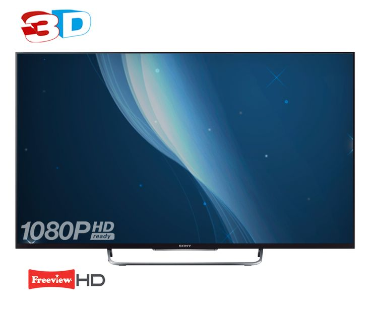 Sony BRAVIA KDL50W829 Black | 50 inch 3D LED Smart TV 1080p HD Freeview HD | Richer Sounds