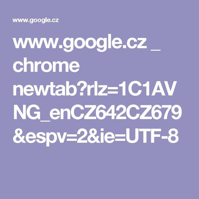 www.google.cz _ chrome newtab?rlz=1C1AVNG_enCZ642CZ679&espv=2&ie=UTF-8