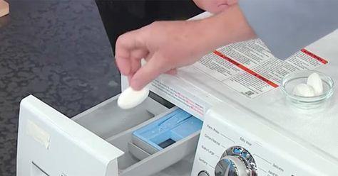 Visste du att din tvättmaskin kryllar av bakterier? Lös problemet direkt med 1 oväntad ingrediens från köket | Newsner