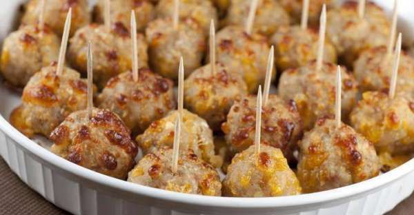Sausage Cheese Balls (Easy)