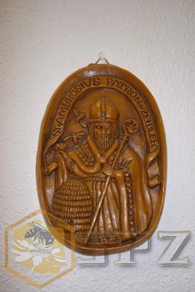 St. Ambrose, patron saint of beekeeping. | COLLECTIONS ...