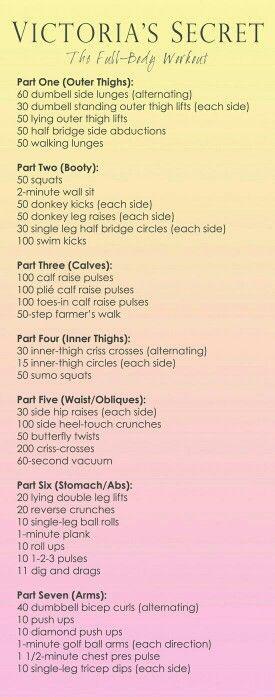 VS Full Body Workout