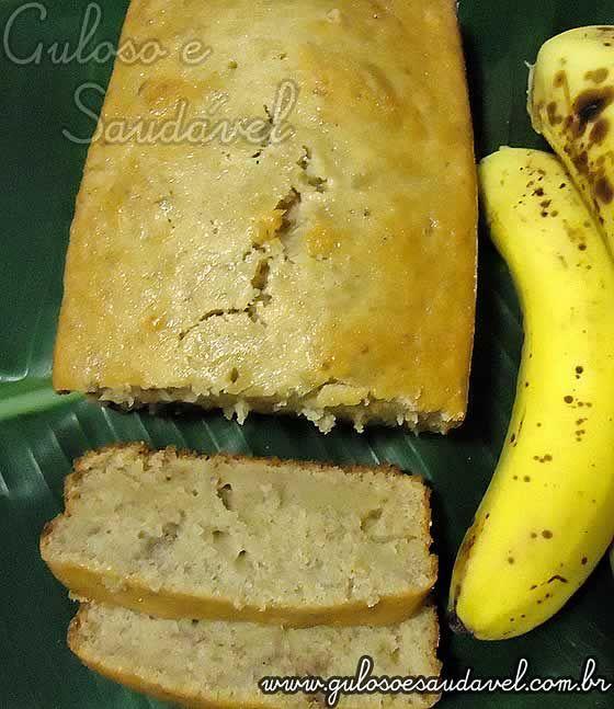 Bora preparar para o #lanche este fácil, rápido e delicioso Pão de Banana?  É #SemLactose!  #Receita aqui: http://www.gulosoesaudavel.com.br/2011/05/12/pao-de-banana/