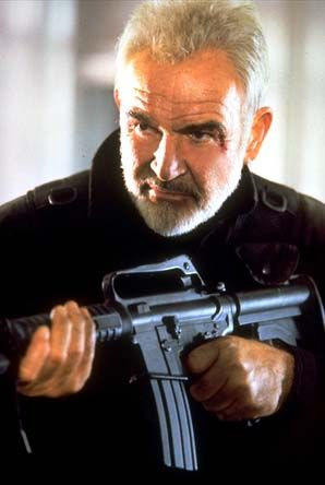 Shawn Connery... Don't judge.. He's a hot old man!