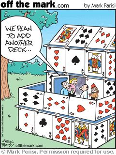"Add a deck...   - ""Off the Mark"" by Mark Parisi;  ...      ...find link..."