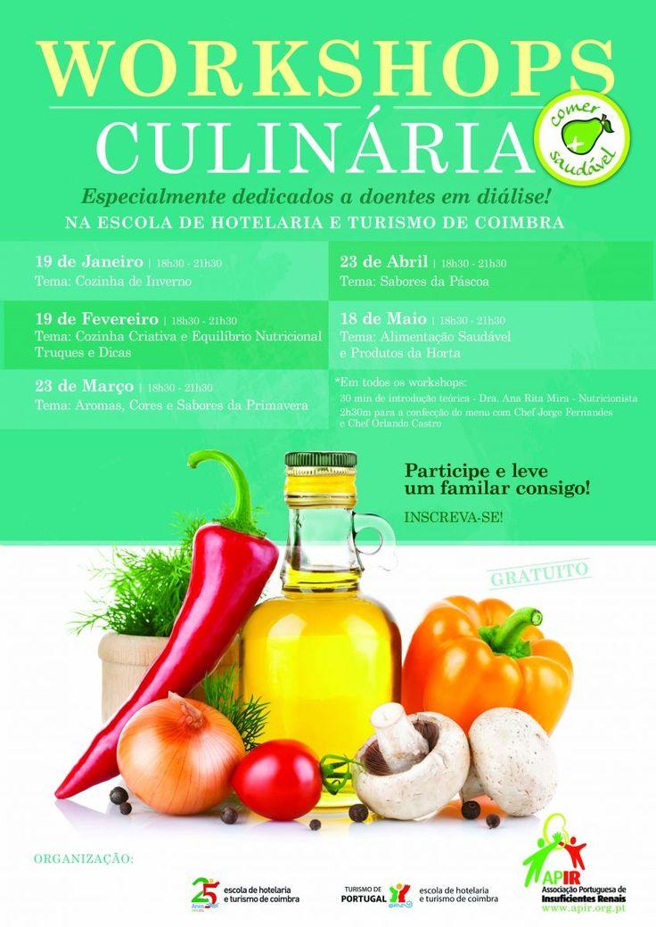 Ciclo de Workshops de culinária para doentes em diálise