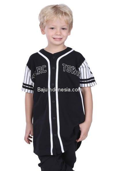 Baju anak TDL 17-24 combed cotton hitam 10-9. Rp 137.650....