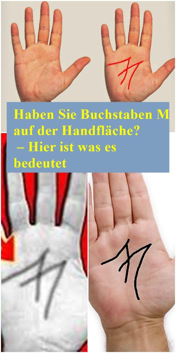 Haben Sie Buchstaben M auf der Handfläche? – Hier ist was es bedeutet | isfur…