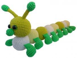 Amigurumi Caterpillar : 65 best caterpillars crochet images on pinterest caterpillar