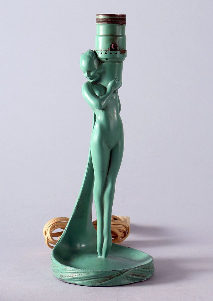 5709 Best Art Deco All Types Of Metal Used Figures Lamps