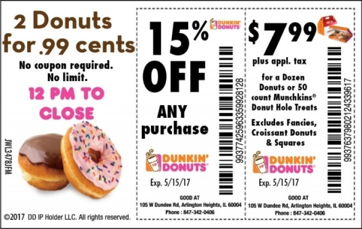 picture about Dunkin Donuts Coupons Printable identified as Dunkin donuts iced espresso coupon codes printable - Vitamix