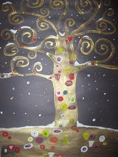 Puita Gustav Klimtin innoittamana